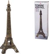 Gouden Eiffeltoren 36cm hoog – Beeld – Woondecoratie – Eiffel Tower – 12x12x36cm