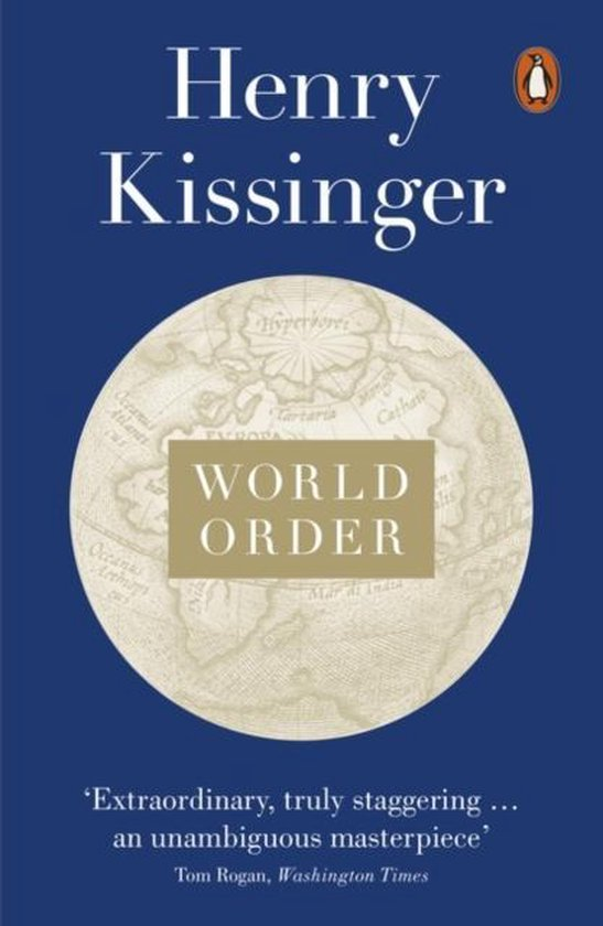 Boek cover World Order van Henry Kissinger (Paperback)