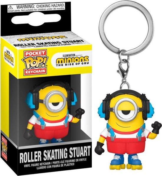 MINIONS 2 - Pocket Pop Sleutelhanger - Roller Skating Stuart