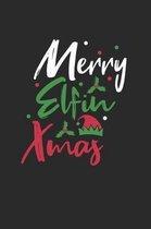 Merry Elfin Christmas Notebook
