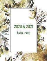 2020 & 2021 2 Jahre-Planer: Monatsplaner f�r 2 Jahre - 24 Monate Kalender, 2 Jahre Terminvereinbarung, Tagebuch, Logbuch (Vol.2)