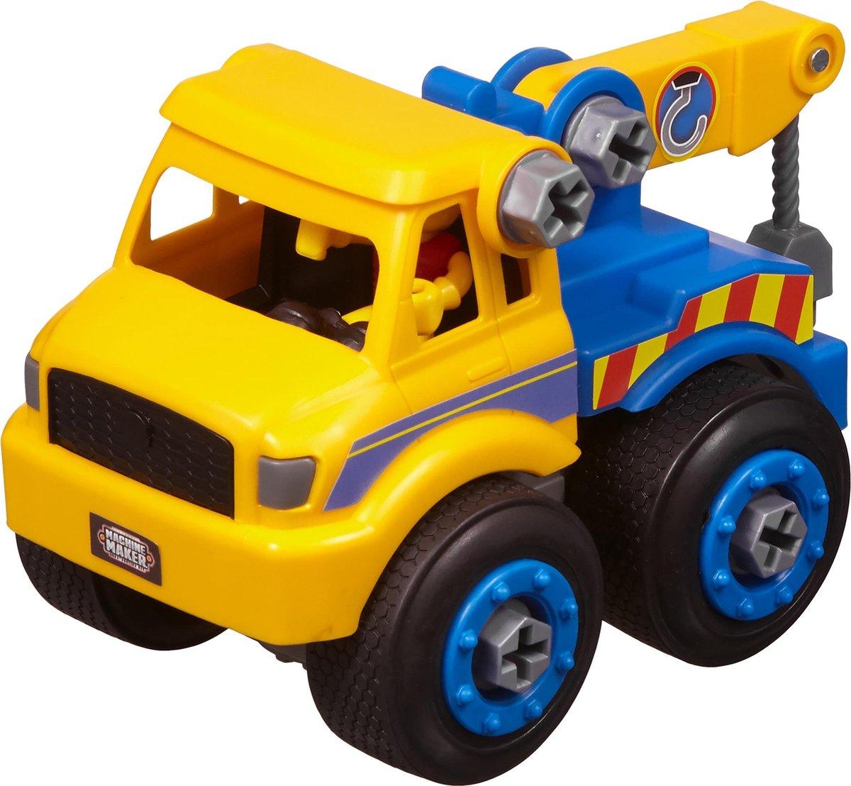 Nikko - Machine Maker Auto City Service: sleepwagen 9-delig