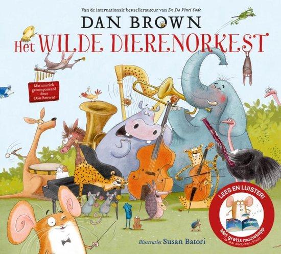 Boek cover Het wilde dierenorkest van Dan Brown (Hardcover)