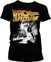 BACK TO THE FUTURE - T-Shirt Poster GIRL (XXL)