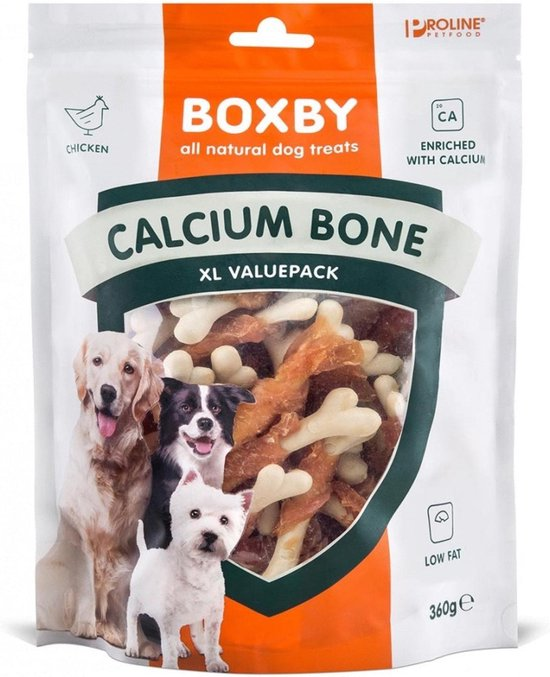 Proline Boxby Calcium Bone Hondensnack - 360 g