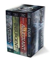 Boek cover Divergent Series Set van Veronica Roth (Paperback)