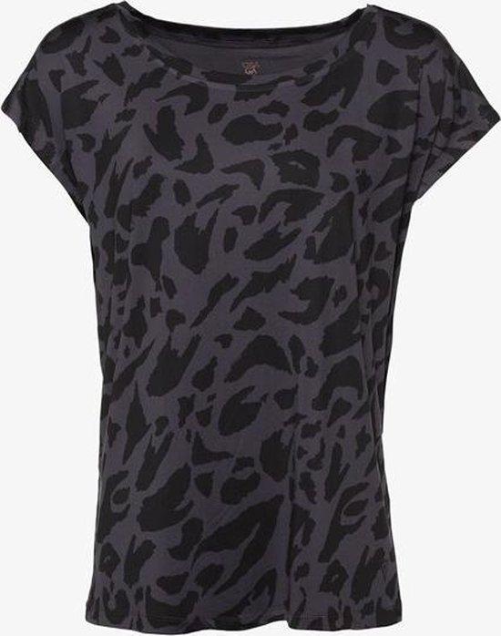 Osaga dames sport T-shirt - Zwart - Maat XL