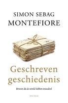 Boek cover Geschreven geschiedenis van Simon Sebag Montefiore