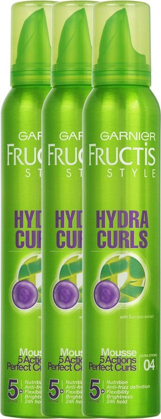 Garnier Fructis Style Hydra Curls Haarmousse Extra Strong