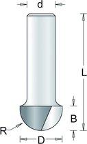 RvS Tools Holgroeffrees 63-8 9,5mm Hm As 8mm