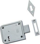 Nemef 91/11 - Opleg deurslot - Voor buiten - en binnendeuren - Doornmaat 70mm - Met sluitplaat - Met 2 sleutels