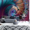 Fotobehang Modern Abstract Spiral Design | V4 - 254cm x 184cm | 130gr/m2 Vlies