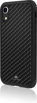 Black Rock Real Carbon Backcover hoesje voor iPhone Xr - Zwart