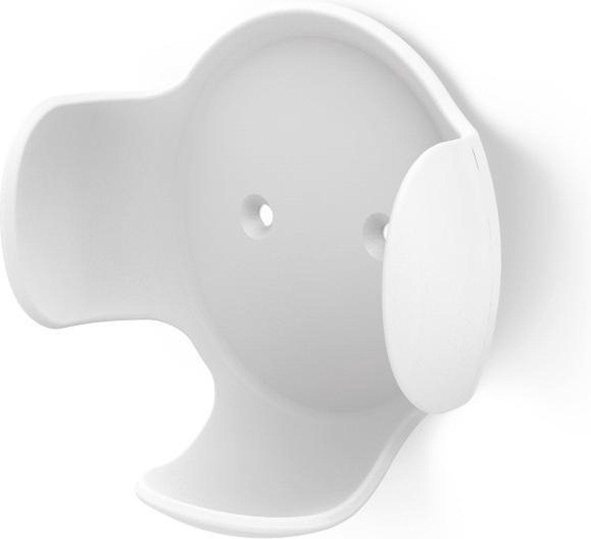 Hama Wandhouder - Smart speaker accessoire - Geschikt voor Google Home Mini en Nest - Wit