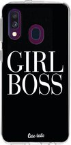 Samsung Galaxy A40 (2019) hoesje Girl Boss Casetastic Smartphone Hoesje softcover case