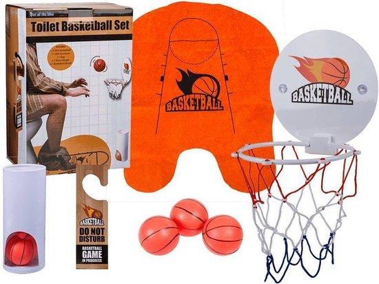 Afbeelding van het spel Out of the Blue toilet basketbal set