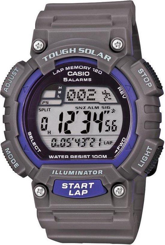 Casio Sport horloge STL-S100H-8AVEF – Horloge – 45 mm – Kunststof – Grijs