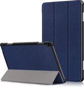 3-Vouw sleepcover hoes - Lenovo Tab P10 - Blauw