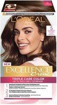 L'Oréal Paris Excellence Crème 5 - Lichtbruin - haarverf