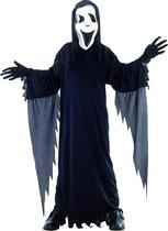 Halloweenkostuum als in de film Scream voor kinderen - Verkleedkleding - 152/158