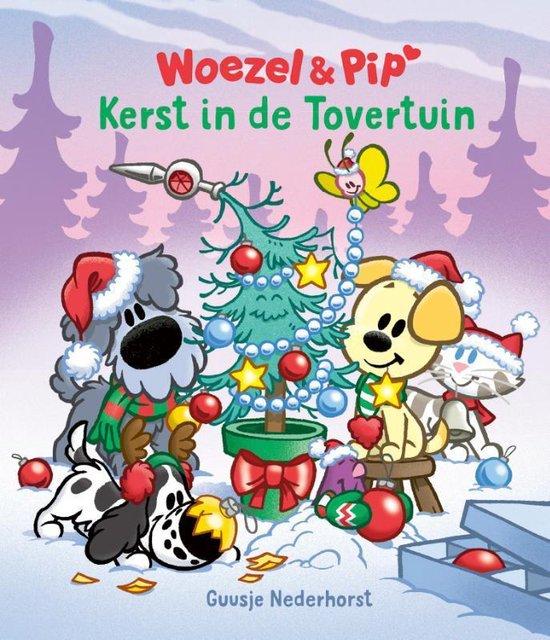 Boek cover Woezel & Pip  -   Kerst in de Tovertuin van Guusje Nederhorst (Hardcover)