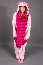 KIMU Onesie Knorretje pak kostuum - maat L-XL - Winnie de Poeh Piglet varkenspak jumpsuit huispak