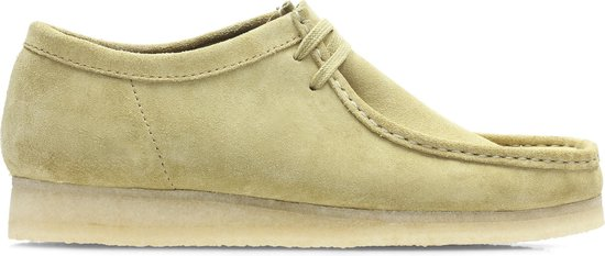 Clarks - Herenschoenen - Wallabee - G - maple suede - maat 9,5