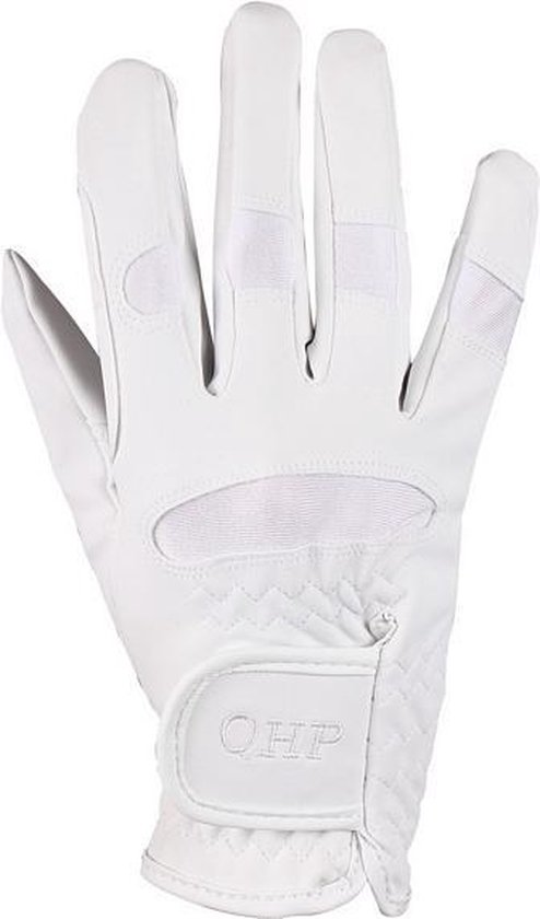 QHP Handschoen Multi - White - 10 jr