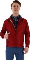 Sea Barrier jacket heren zomerjack rood, maat L