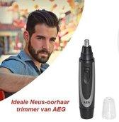AEG - Neushaartrimmer