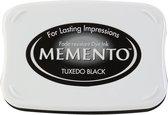 ME-900 Memento ink pad tuxedo black - inktkussen groot - zwart