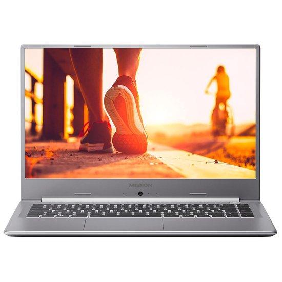 MEDION AKOYA P15647 Notebook Grijs, Titanium 39,6 cm (15.6'') 1920 x 1080 Pixels Intel® 10de generatie Core™ i5 8 GB DDR4-SDRAM 512 GB SSD NVIDIA® GeForce® MX250 Windows 10 Home