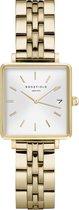 Rosefield The Boxy Xs Dames Horloge - Goud Ø22 X 24mm - QMWSG-Q021
