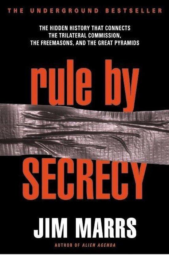 Boek cover Rule by Secrecy van Jim Marrs (Paperback)