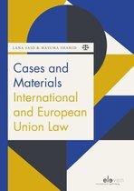 Boek cover Cases and Materials International and European Union Law van Lana Said en Masuma Shahid (Paperback)