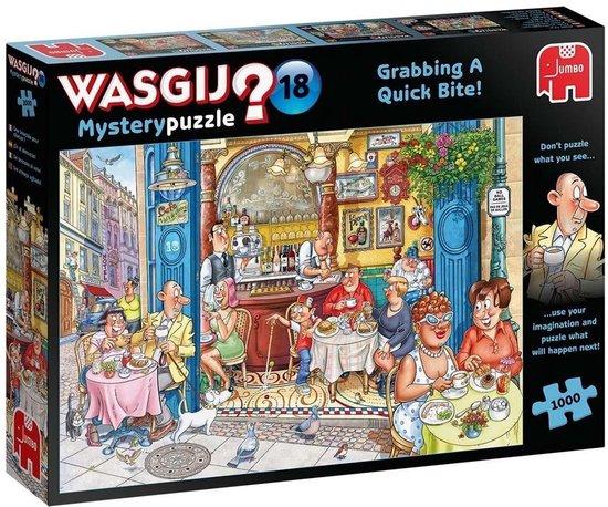 Afbeelding van Wasgij Mystery 18 Een Snelle Hap! - Legpuzzel 1000 Stukjes