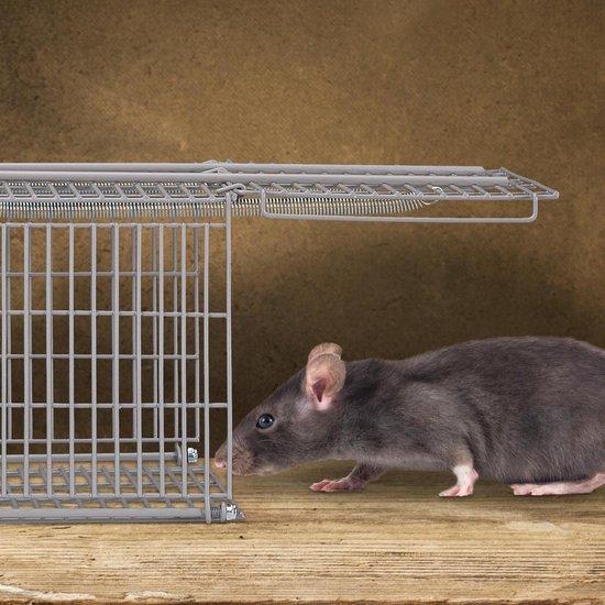 relaxdays Vangkooi - muizen - ratten - muizenval - rattenval - diervriendelijk M