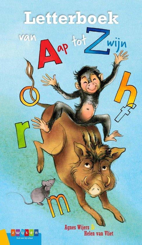 Prentenboeken - Letterboek van Aap tot Zwijn - Agnes Wijers |