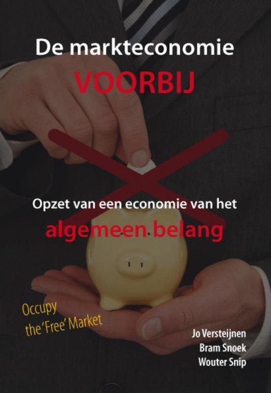 Cover van het boek 'De Markteconomie Voorbij' van Jo Versteijnen