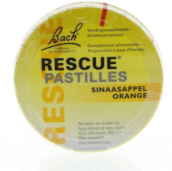 Bach Rescue Remedy Pastilles - 50 gr - sinaasappel - Voedingssupplement