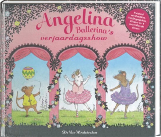 Angelina Ballerina. De grote verjaardagsvoorstelling - K. Holabird   Fthsonline.com