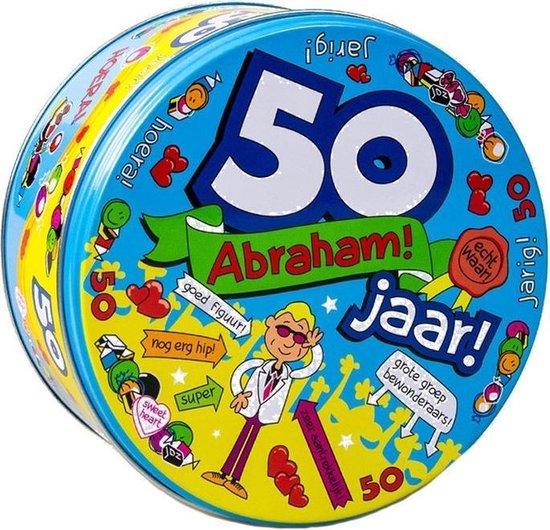 Abraham 50 jaar snoeptrommel