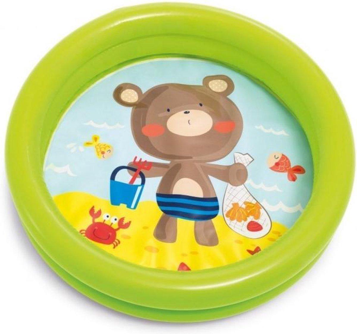 Mini Pool 61 / 15 cm INTE / Teddy Bear
