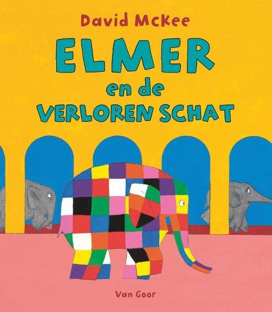 Elmer - Elmer en de verloren schat - David Mckee |
