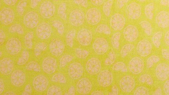 KAAT Amsterdam Citrus Delight Strandlaken 100 x 180 cm