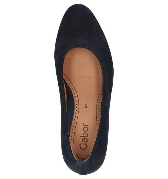 Gabor Soft & Smart Blauwe Pumps Dames 38 zq25DM43