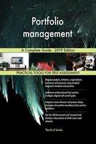 Portfolio management A Complete Guide - 2019 Edition