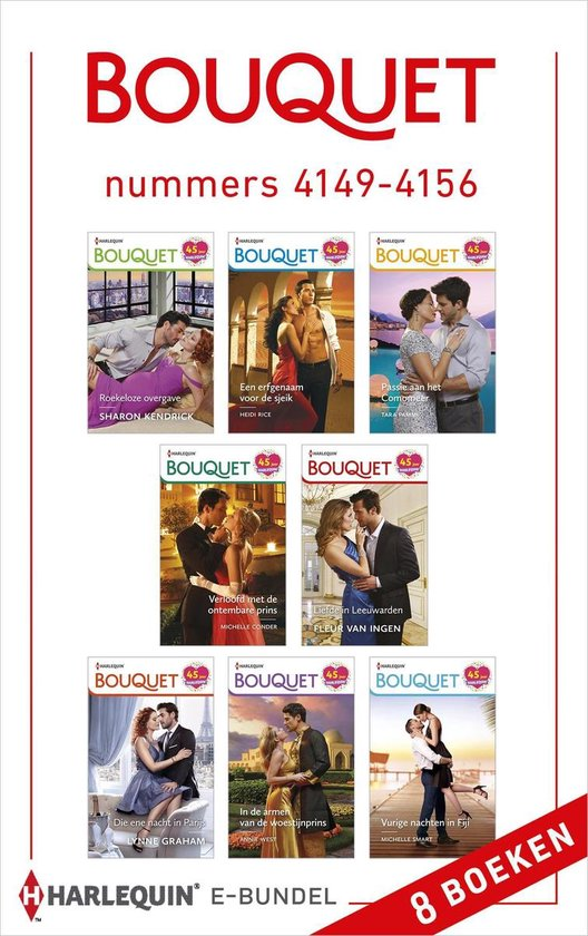 Bouquet e-bundel nummers 4149 - 4156 - Sharon Kendrick pdf epub