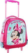 Disney Minnie Mouse Unstoppable Rugzak Trolley - 31 x 27 x 10 cm - Roze