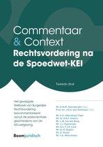 Commentaar & Context  -   Rechtsvordering na de Spoedwet-KEI